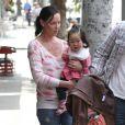 Katherine Heigl en famille à Los Feliz, le 25 mars 2010