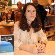 La Salon du Livre 2010 se tient à Paris jusqu'au 31 mars, et accueille de nombreux people-auteurs, dont Mazarine Pingeot