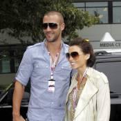 Dannii Minogue, radieuse et enceinte, a illuminé le grand prix d'Australie !