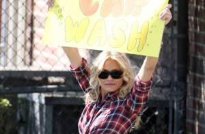 La sexy Cameron Diaz prouve qu'elle a bien les plus belles gambettes d'Hollywood !