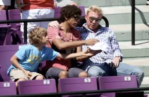 Quand Boris Becker passe une journée entre hommes avec ses fils... toujours pas l'ombre de la petite Anna !