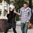 Selma Blair et son petit-ami Mikey Day à West Hollywood le 31 mars 2010