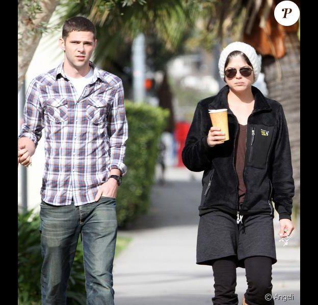 Selma Blair et son petit-ami Mikey Day à West Hollywood le 31 mars 2010
