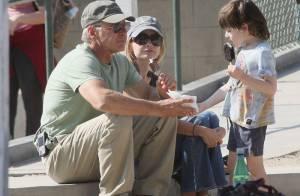 Harrison Ford aimerait adopter le fils de Calista Flockhart