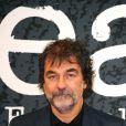 Olivier Marchal, à l'occasion de l'ouverture du 2e Festival International du Film Policier de Beaune, dans la Côte d'Or, le 8 avril 2010.