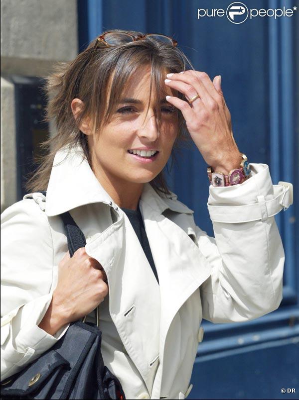 La ravissante Nathalie Iannetta...
