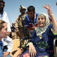 Angelina Jolie en Iraq en août 2007