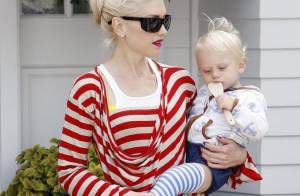 Gwen Stefani : Entourée de ses trois hommes, elle respire le bonheur !