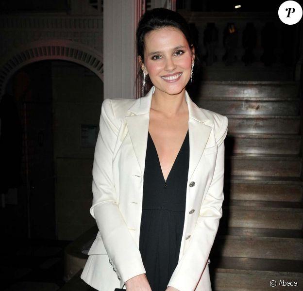 Virginie Ledoyen, à Paris, le 28 janvier 2010 !