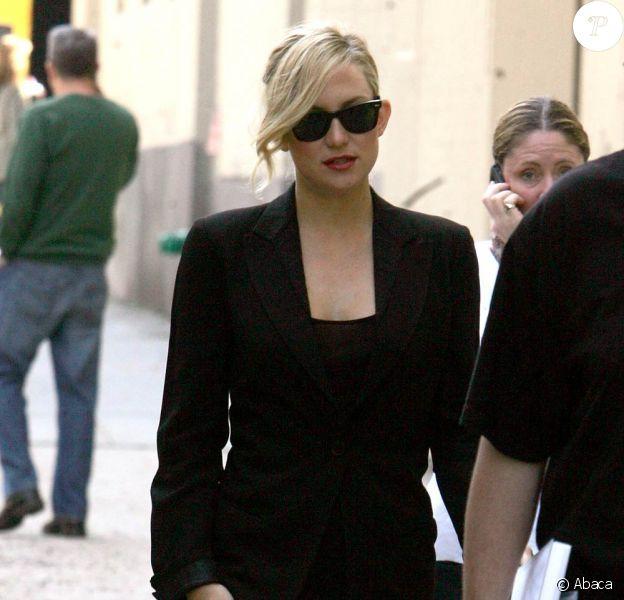 Kate Hudson à New York, le 22 avril 2010
