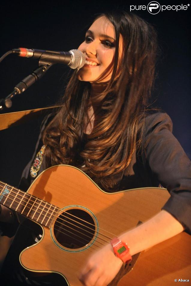 Joyce Jonathan au Café de la Danse, à Paris. 22/04/2010