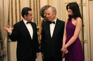 'Carla Bruni, je ne l'ai tout simplement pas vue' affirme Simone Veil...