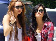 Miley Cyrus et Demi Lovato : sans leurs petits copains, les deux copines s'offrent une vraie virée entre filles !