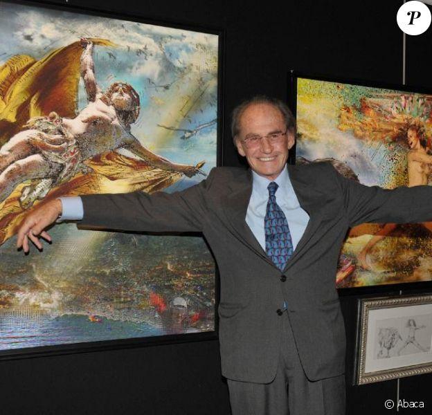 Pal Sarkozy présente ses créations à l'Espace Pierre Cardin. 24/04/2010