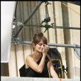 Penélope Cruz pose devant l'objectif de Mario Testino, à Paris. Elle est le nouveau visage de Trésor, de Lancôme. 28/04/2010