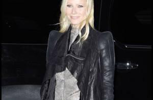 La divine Gwyneth Paltrow exhibe ses jolies gambettes devant un parterre de stars !