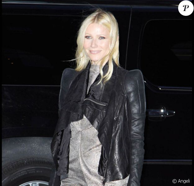 Gwyneth Paltrow, à l'occasion de la 2e Bent Learning Benefit, qui s'est tenue au Puck Building de New York, le 28 avril 2010.