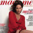 Jennifer Lopez en couverture de Madame Figaro, du 30 avril 2010