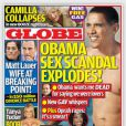 Couverture du magazine Globe