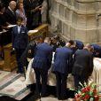 Barack et Michelle Obama aux funérailles de Dorothy Height le 29 avril 2010