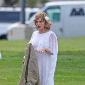 Milla Jovovich : Elle parade en robe de mariée, mais sans son mari !