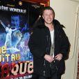 Jean-Edouard Lipa à l'avant-première du film Une nuit au cirque (4 mai 2010, Cirque d'hiver à Paris)