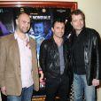 Fabien Remblier,Willy  et Olivier Kauffer à l'avant-première du film Une nuit au cirque (4 mai 2010, Cirque d'hiver à Paris)