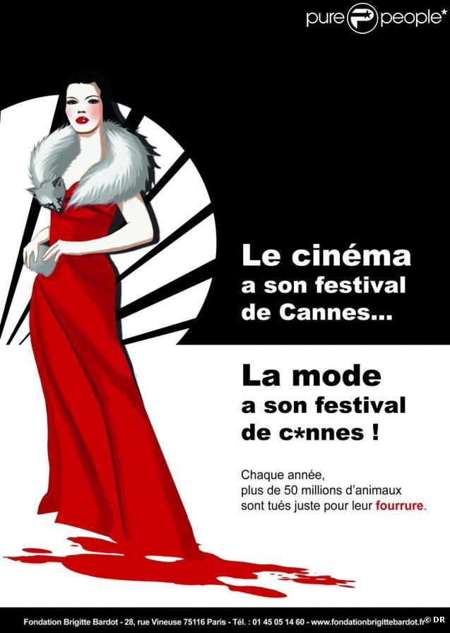Fondation Brigitte Bardot, campagne mode et cinéma, mai 2010 !