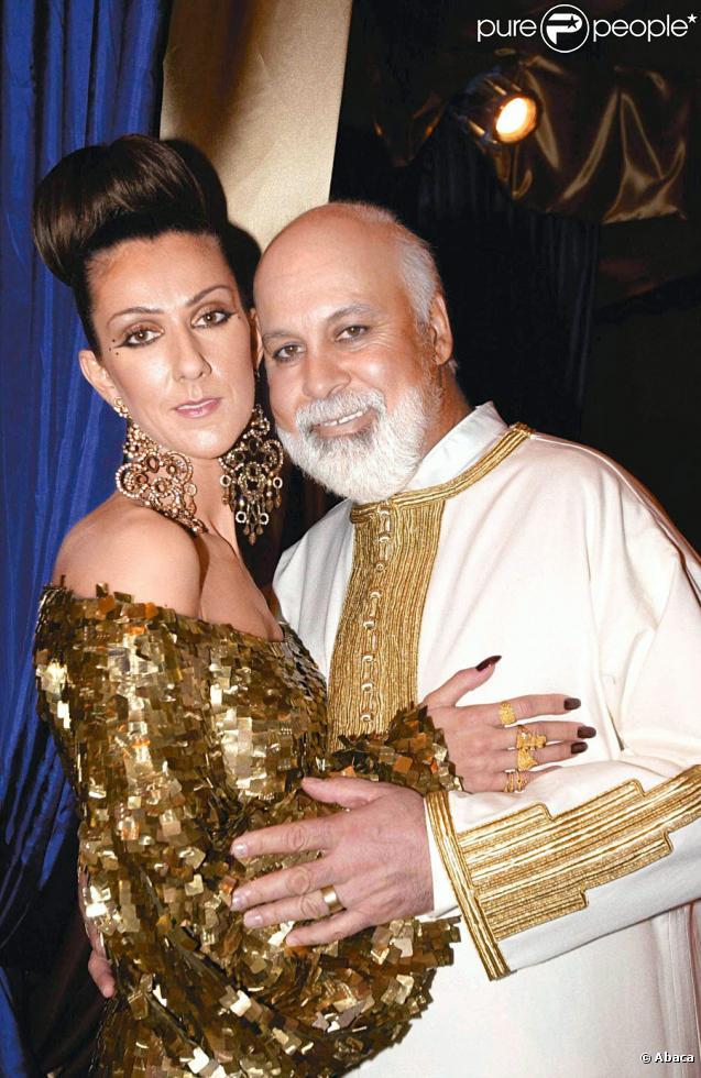 C  233 line Dion et son mari Ren  233   Photo anthologique  Celine Dion Son