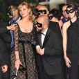Louise Bourgoin, Melvil Poupaud et Gilles Marchand au 63e festival de Cannes, à l'occasion de la projection du film L'Autre monde.