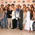 L'équipe d'Amour, Gloire et Beauté est là pour recevoir le prix de la série la plus populaire (18 mai 2010 à Los Angeles)