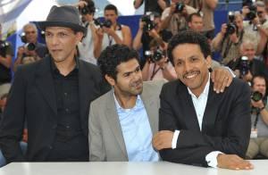 Cannes 2010 - Jamel Debbouze face à plus d'un millier de manifestants... Un tapis rouge sous surveillance !
