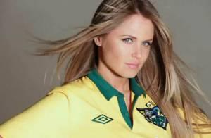 Susana Werner : La Brésilienne a abandonné son footballeur pour poser en maillot, rien qu'un maillot très court...