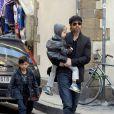 Brad Pitt et ses adorables enfants sont arrivés le dimanche 23 mai dans leur domaine de Miraval, dans le Var.