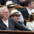 Pierre Richard à Roland-Garros. 29/05/2010