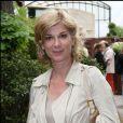 Michèle Laroque à Roland-Garros. 29/05/2010