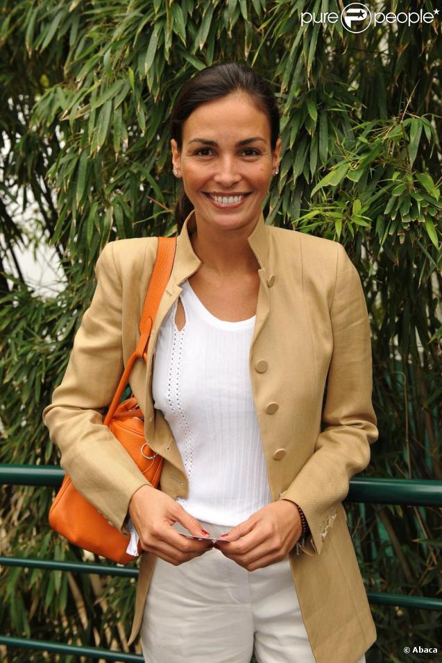 Inés Sastre à Roland-Garros, le 30 mai 2010.