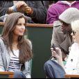 La ravissante Malika Ménard, à Roland-Garros, le 31 mai 2010.