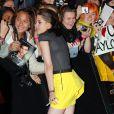 Kristen Stewart lors d'un photocall pour les fans de Twilight à Sydney le 31 mai 2010