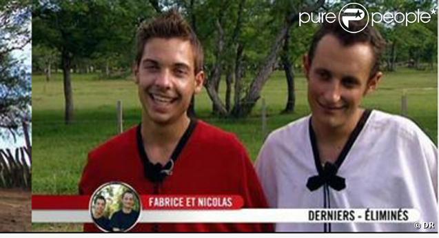 Fabrice et Nicolas éliminés