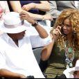 Beyoncé et Jay-Z assistent à la finale Hommes de Roland-Garros le 6 juin 2010