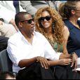 Beyoncé et Jay-Z assistent à la finale Hommes de Roland-Garros le 6 juin 2010 : main dans la main