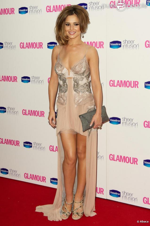 Cheryl Cole lors des Glamour Awards à Londres le 8 juin 2010