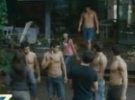 Regardez Kristen Stewart entourée de beaux garçons à moitié nus... et d'autres extraits de Twilight !