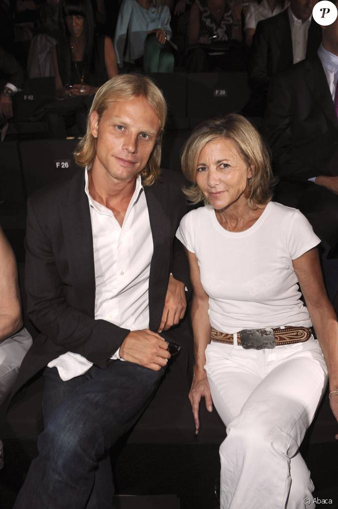 claire chazal et son compagnon arnaud lemaire. Black Bedroom Furniture Sets. Home Design Ideas