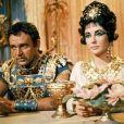 Richard Burton et Elizabeth Taylor dans Cléopâtre (1963)