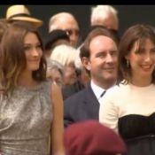 Regardez Carla Bruni-Sarkozy sauver son homologue britannique !