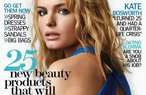 PHOTOS : Kate Bosworth plus sexy que jamais dans l'édition anglaise de 'Marie-Claire' !