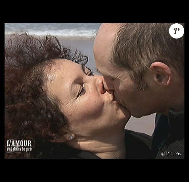 Guylaine et Norbert, un couple formé en 2009 au cours de L'amour est dans le pré