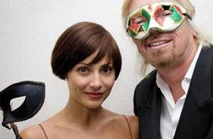 PHOTOS : Natalie Imbruglia très complice avec son beau-papa Richard Branson...
